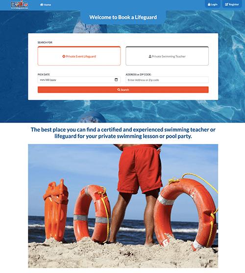 Book a lifeguard